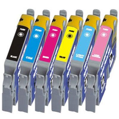 Compatible Epson T0331/T0332/T0333/T0334/T0335/T0336 Compatible Epson Cartridges Full Set