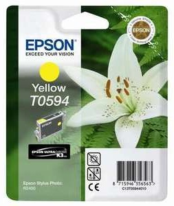 Epson Original T0594 Yellow Ink Cartridge