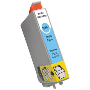 Compatible Epson T0595 Light Cyan Ink Cartridge