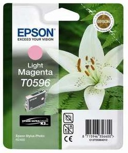 Original Epson T0596 Light Magenta Ink Cartridge