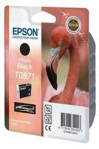Original Epson T0871 Photo Black Ink Cartridge