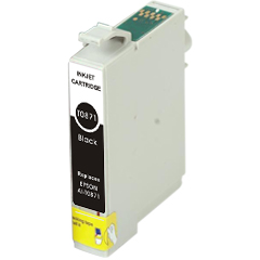 Compatible Epson T0871 Photo Black Ink Cartridge
