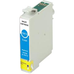 Compatible Epson T0872 Cyan Ink Cartridge
