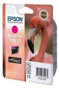 Original Epson T0873 Magenta Ink Cartridge
