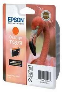 Epson Original T0879 Orange Ink Cartridge