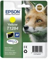Original Epson T1284 Yellow Ink Cartridge