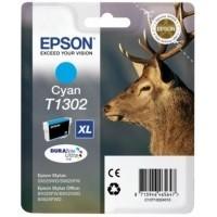 Original Epson T1302 Cyan Ink Cartridge