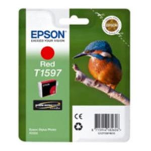 Original Epson T1597 Red Ink Cartridge