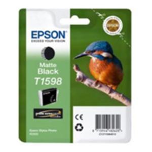 Original Epson T1598 Matt Black Ink Cartridge