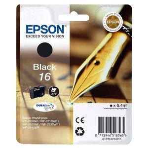Epson Original T1621 Black Ink Cartridge (Series 16)