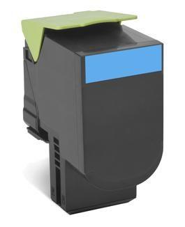 Compatible Lexmark C540H1CG High Capacity Cyan Toner Cartridge