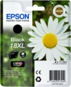 Epson Original 18XL High Capacity Black Ink Cartridge (C13T18114010)