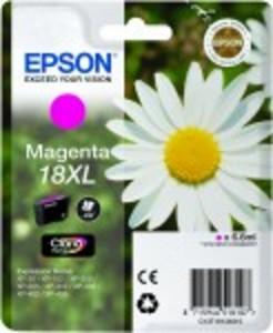 Epson Original 18XL High Capacity Magenta Ink Cartridge (C13T18134010)