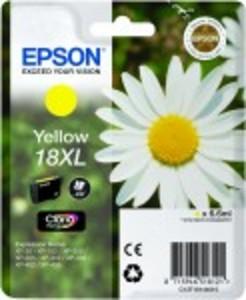 Epson Original 18XL High Capacity Yellow Ink Cartridge (C13T18144010)