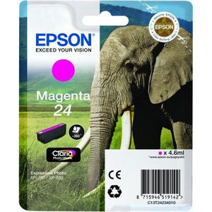 Epson Original T2423 Magenta Ink Cartridge (24 Series)