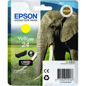 Epson Original T2424 Yellow Ink Cartridge (24 Series)