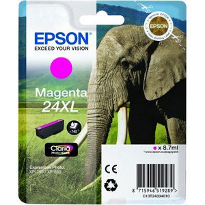 Epson Original T2433 Magenta High Capacity Ink Cartridge (24XL)