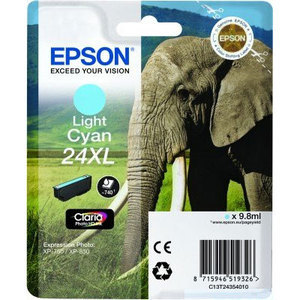 Epson Original T2435 Light Cyan High Capacity Ink Cartridge (24XL)