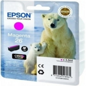 Epson Original T2613 Magenta Ink Cartridge (Series 26)