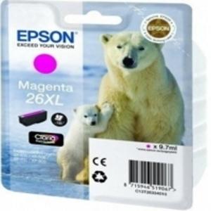 Epson Original T2633 Magenta High Capacity Ink Cartridge (26XL)