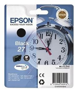 Epson Original T2701 Black Ink Cartridge (C13T27014010)