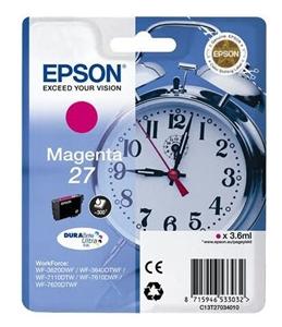 Epson Original T2703 Magenta Ink Cartridge (C13T27034010)