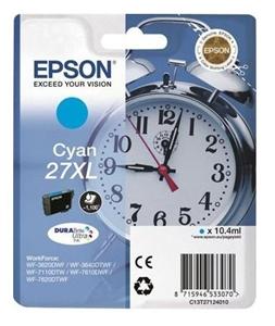 Epson Original T2712 Cyan High Capacity Ink Cartridge (27XL)
