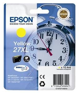 Epson Original T2714 Yellow High Capacity Ink Cartridge (27XL)