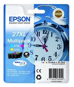 Epson Original T2715 High Capacity Pack Of 3 Ink Cartridge (Cyan/Magenta/Yellow)