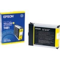 Original Epson T481 Yellow Ink Cartridge