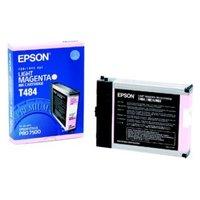 Original Epson T484 Light Magenta Ink Cartridge
