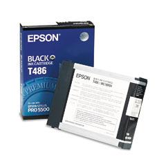 Original Epson T486 Black Ink Cartridge
