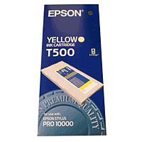 Original Epson T500 Yellow Ink Cartridge