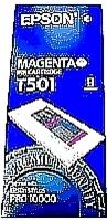 Original Epson T501 Magenta Ink Cartridge