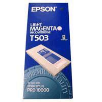 Original Epson T503 Light Magenta Ink Cartridge