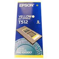 Original Epson T512 Yellow Ink Cartridge
