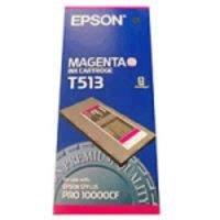 Original Epson T513 Magenta Ink Cartridge
