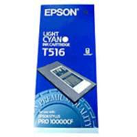 Original Epson T516 Light Cyan Ink Cartridge