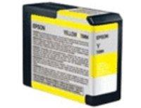 Original Epson T5804 Yellow Ink Cartridge