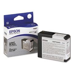 Original Epson T5807 Light Black Ink Cartridge