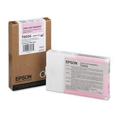 Original Epson T6056 Light Magenta Ink Cartridge