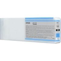 Original Epson T6365 Light Cyan Ink Cartridge