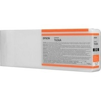 Original Epson T636A Orange Ink Cartridge