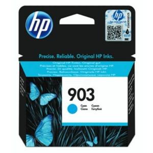 Original HP 903 Cyan Inkjet Cartridge (T6L87AE)