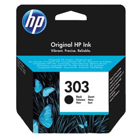 Original HP 303 Black Inkjet Cartridge (T6N02AE)