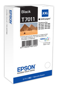 Epson Original T7011 XXL Black Ink Cartridge