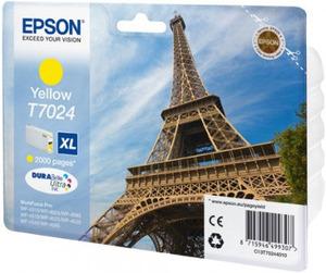 Epson Original T7024 XL Yellow Ink Cartridge