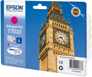 Epson Original T7033 Magenta Ink Cartridge