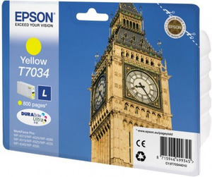Epson Original T7034 Yellow Ink Cartridge