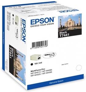 Epson Original T7441 Black High Capacity Ink Cartridge (C13T74414010)